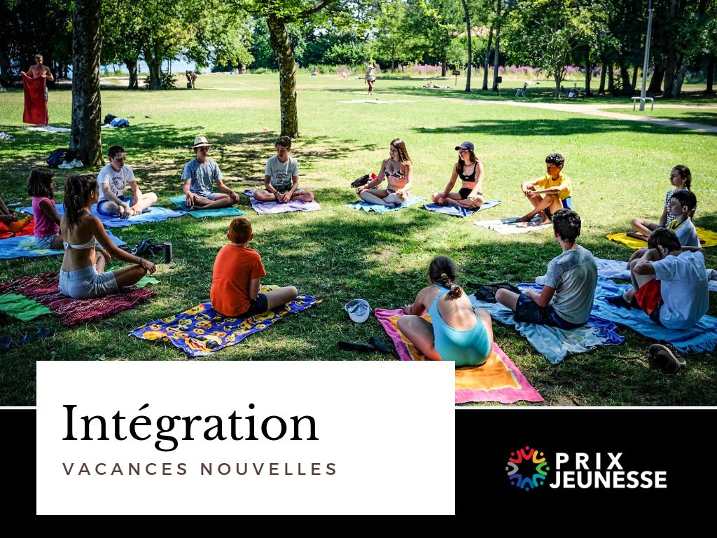 Candidat  Intégration - Vacances-Nouvelles