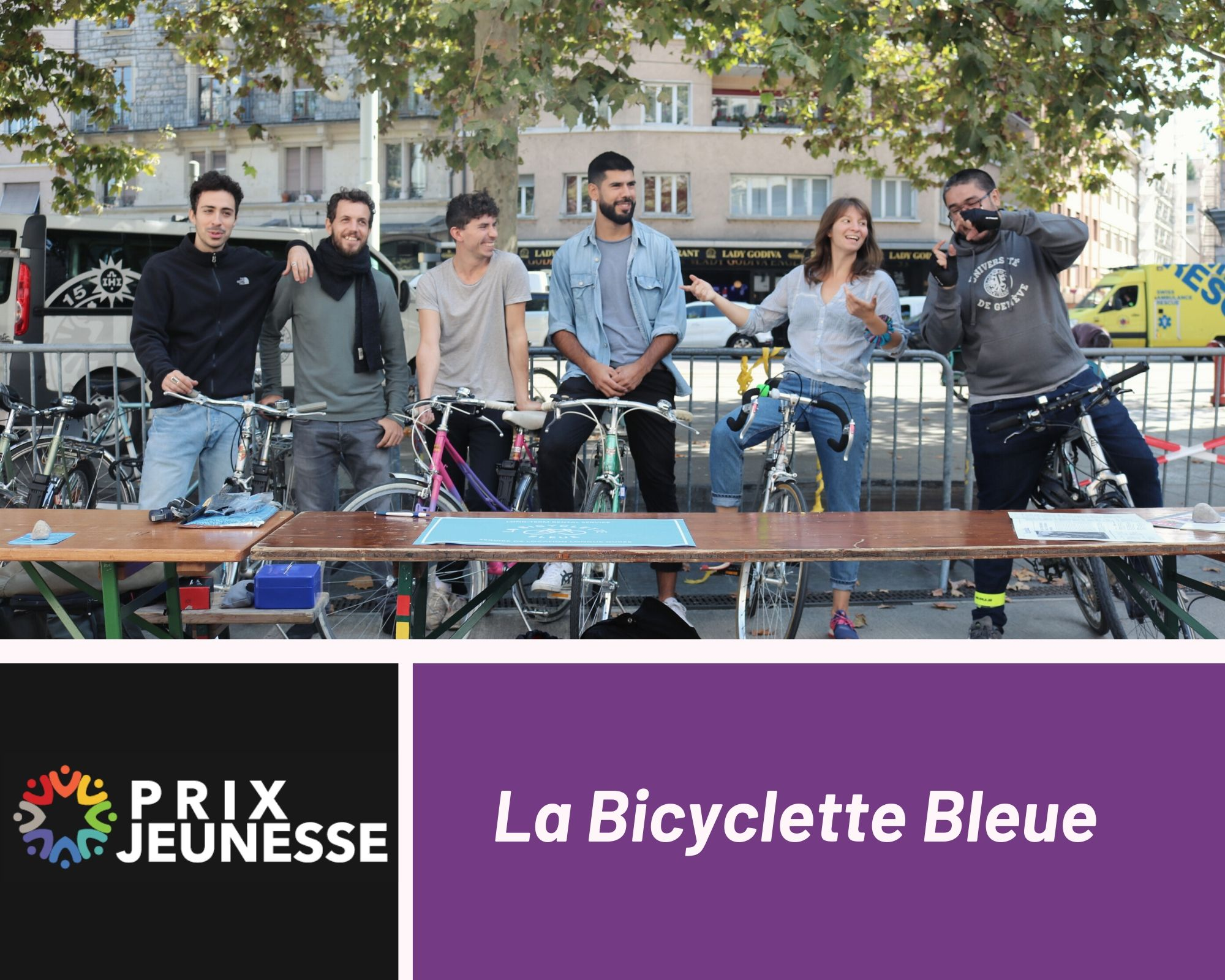 Candidat  Bicyclette Bleue