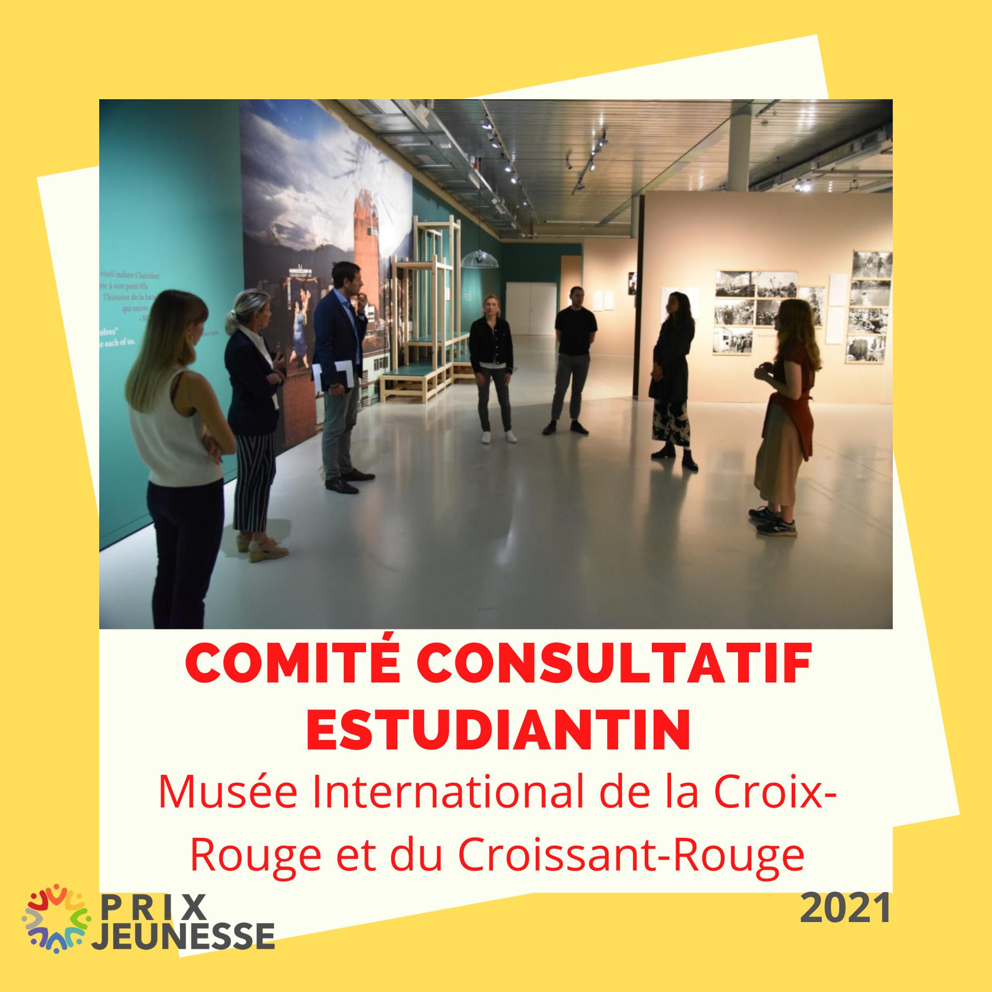 Candidat  Comité consultatif estudiantin du Musée International de la Croix-Rouge et du Croissant-Rouge