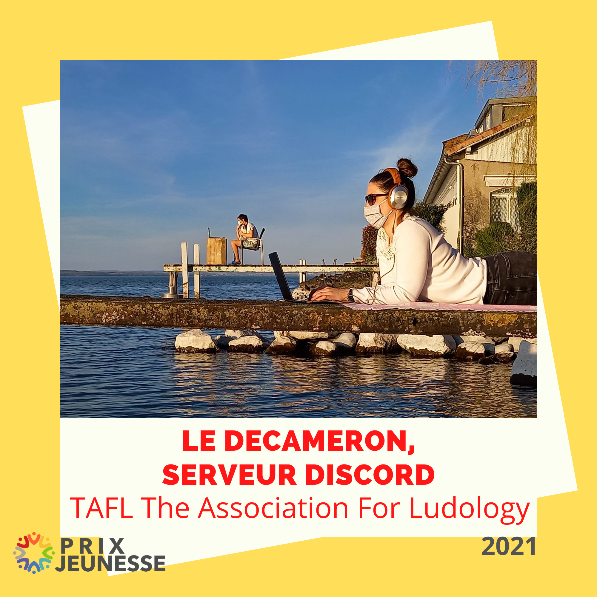 Candidat  Le Decameron, serveur discord - TAFL The Association For Ludology
