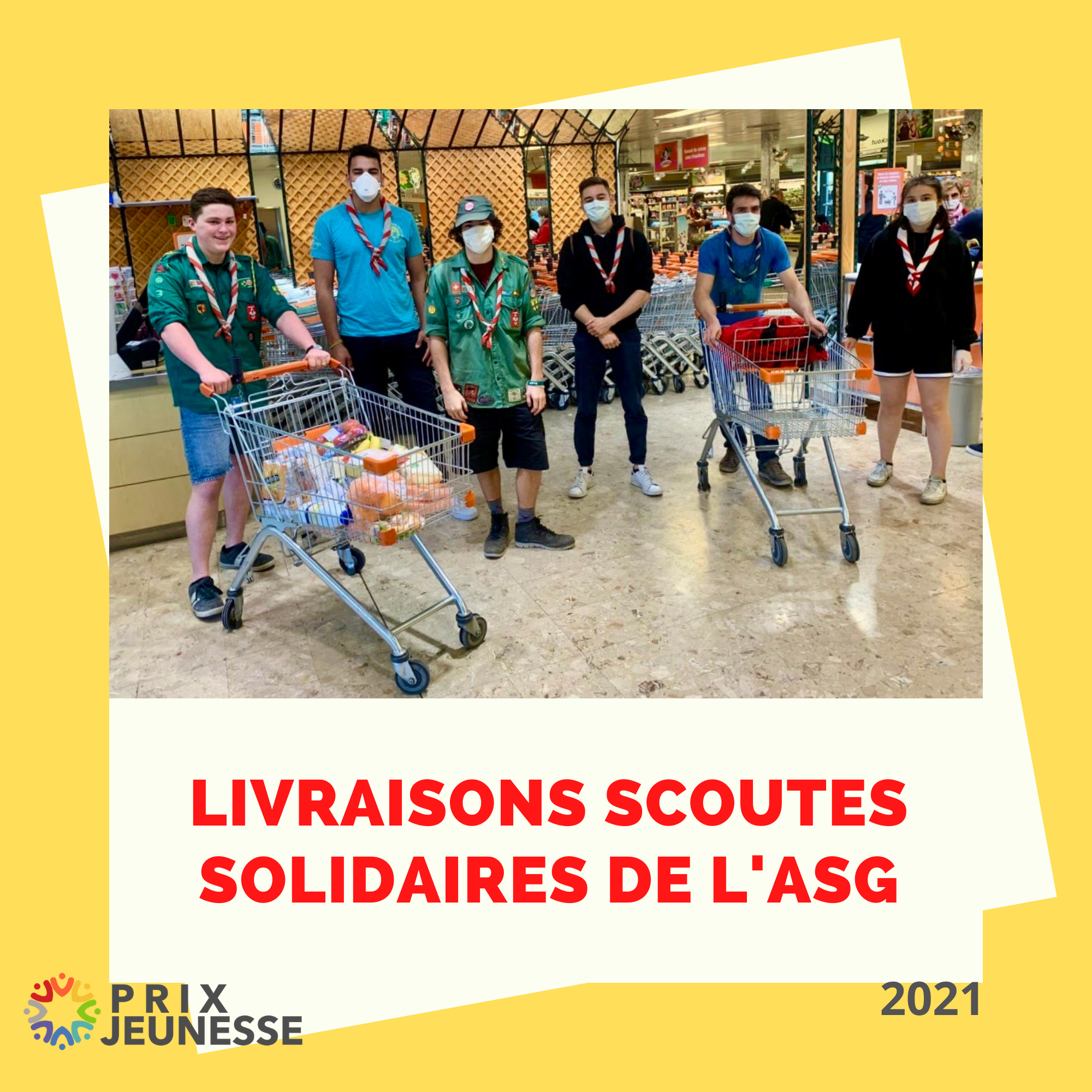 Candidat  Livraisons scoutes solidaires de l'ASG